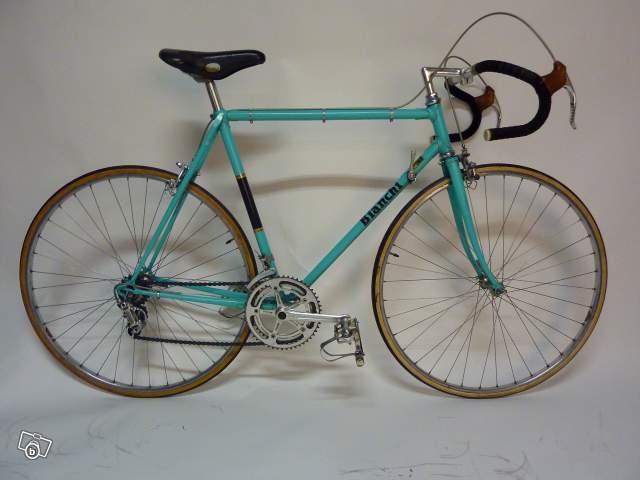 Vélo vintage road bike bianchi campagnolo